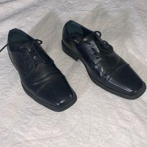 Alfani Men's Cap Toe Oxford Black Shoes